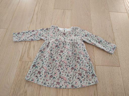 Sukienka z długim rękawem rozmiar 80 Zara