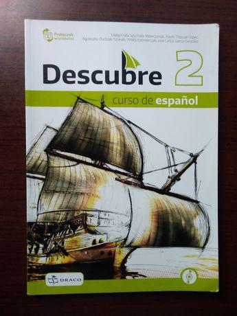 Descubre 2 (podręcznik+ zeszyt ćwiczeń+płyta CD)