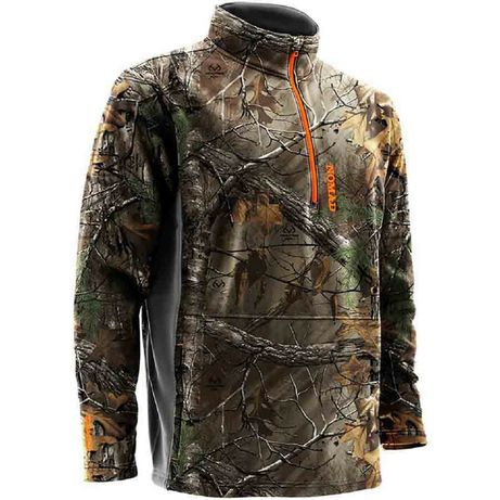 Nomad Southbounder Camo Realtree Xtra 1/4 Zip Fleece. Батник, пуловер.