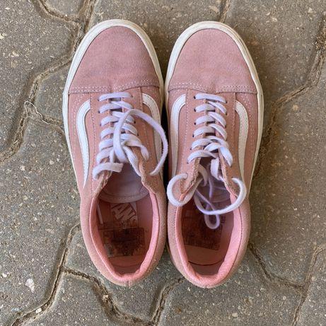 Vans cor de rosa