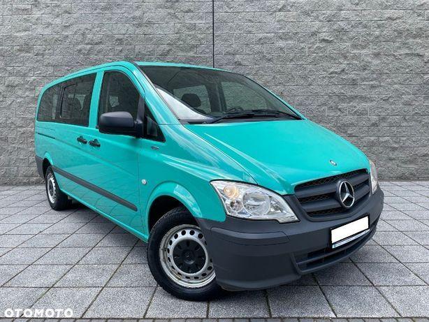 Mercedes-Benz Vito 2.2 Diesel 136 Km LIFT 8 Osób Klimatyzacja Long Hak Elektryka