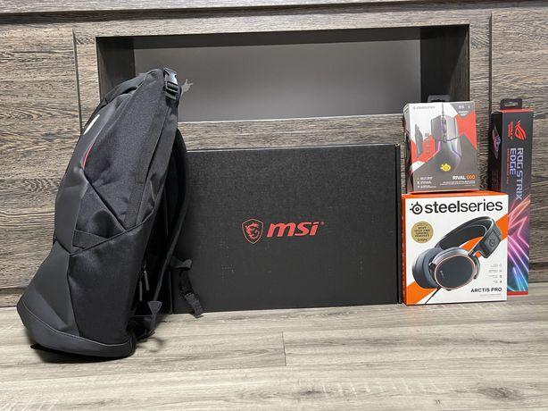 Ноутбук MSI GE66 Raider 10UH 64ГБ/2ТБ SSD/RTX3070