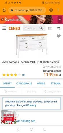 Komoda Jysk Stenlille - nowa