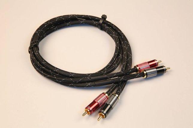 Kable RCA STRUSS interconnect/interkonekt (2 x 0,75 mb).