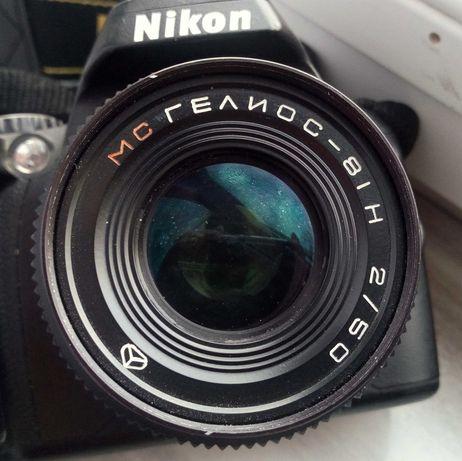 Obiektyw Helios 81-H, 2/50 pod Nikon
