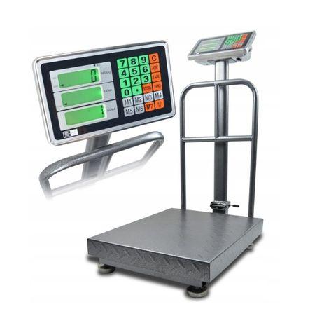 WAGA 150kg / 50g MAGAZYNOWA 30X40 sklepowa elektroniczna HIT 686