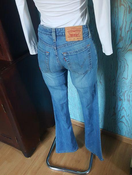 Levi's! Jasne jeansy r.26/34 S/36! Oldschool! Stary model! Oryginalne