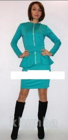 Костюм комплект набор юбка пиджак кардиган