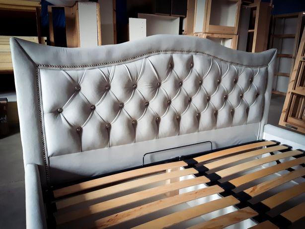 Łóżko sypialniane 160x200 glamour