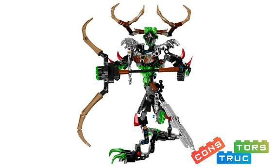 Lego bionicle 71310. Охотник Умарак. Оригинал.