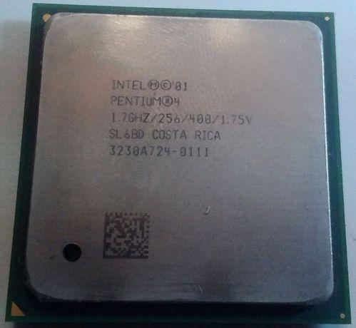 Процессор intel pentium 4 1.7ghz/256/400/1.75v (SL6BD) s478