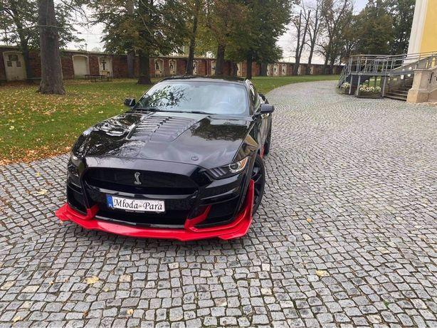 Auto do ślubu FORD MUSTANG GT 5.0 PREMIUM samochód na wesele Poznan