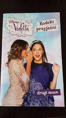 Disney Violetta Kodeks przyjaźni wydawnictwo Egmont