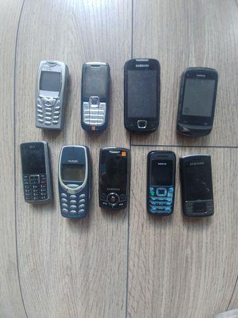 Sprzedam telefony komórkowe.