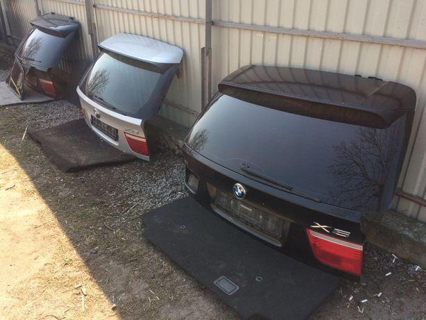 BMW X5 6 f15 E71 E53 e70 крышка багажника ляда крыло дверь бампер фара