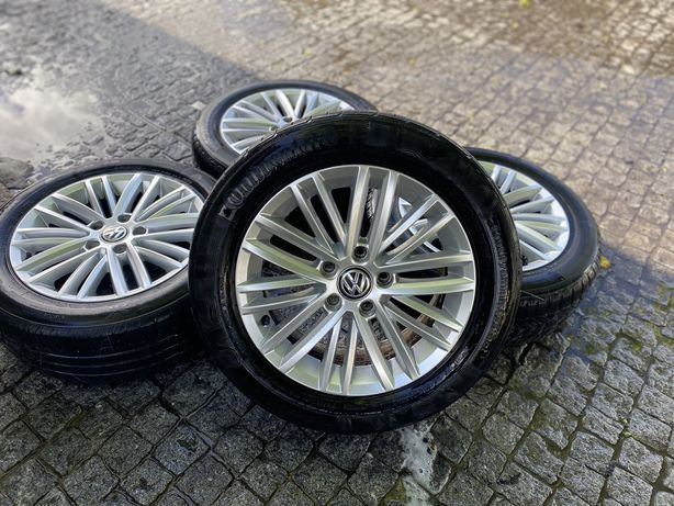 "Jantes 16"" 5x112 originais vw golf Caddy sharan seat leon audi skoda"