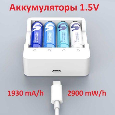 ZMI №5 аккумулятор AA на 1.5V, 2900 мВт/ч (1930 mA/h)
