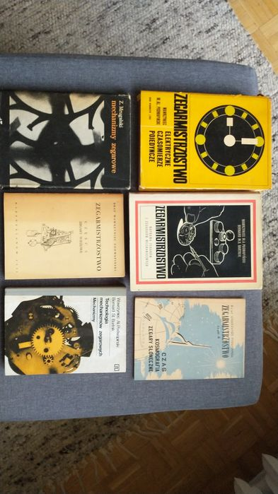 Zegarmistrzostwo komplet książek W. Podwapiński, Bartnik, Mrugalski Warszawa - image 1
