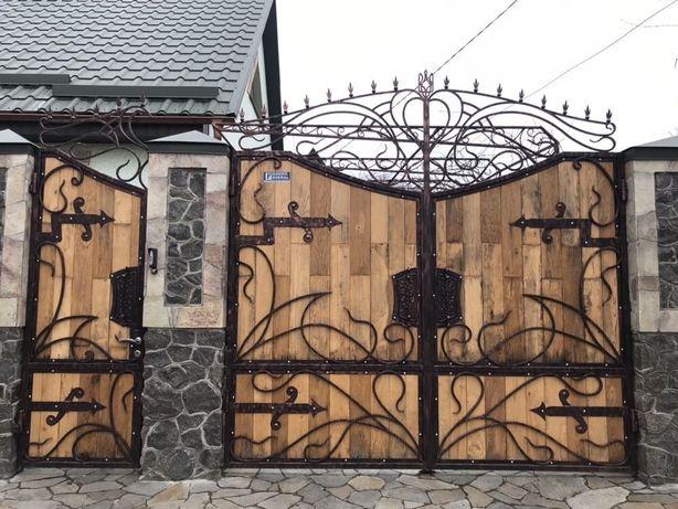 Решётки на окна, забор, ворота, навес, ковка, сварочные работы