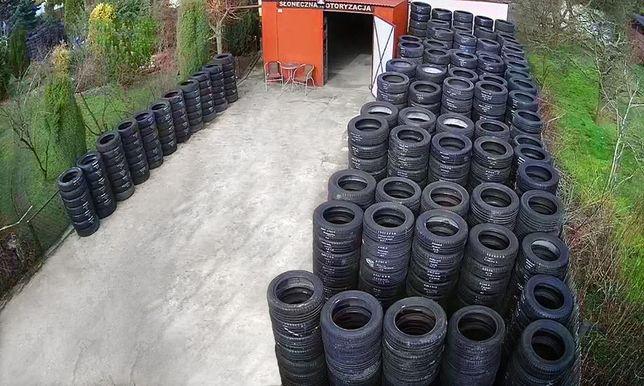 Opony Używane Letnie 2015-18 rok, 7-7,5-8 mm
