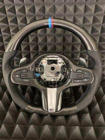 Карбоновый руль на BMW Audi VW Mersedes Lexus Toyota Honda Porsche