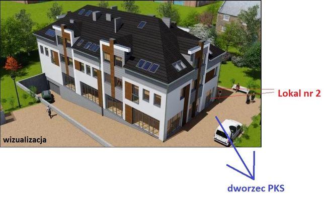 Lokal handlowo-usługowy, biuro na dworcu PKS - 69,5 m2