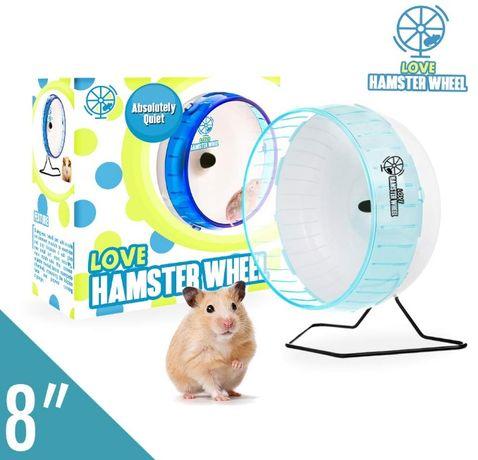 kołowrotek cichy dla chomika love hamster 22cm wysyłka