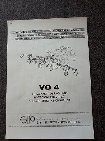 Katalog części SIP VO 4