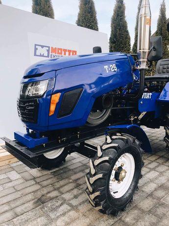 Мототрактор Булат Т-25 люкс+комплект+доставка+зіп.мінітрактор трактор