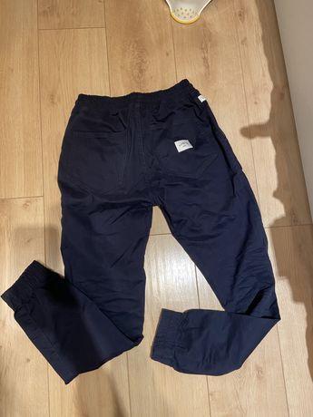 Joggery Elade - 32 M - granatowe spodnie męskie jogger z gumka nowe