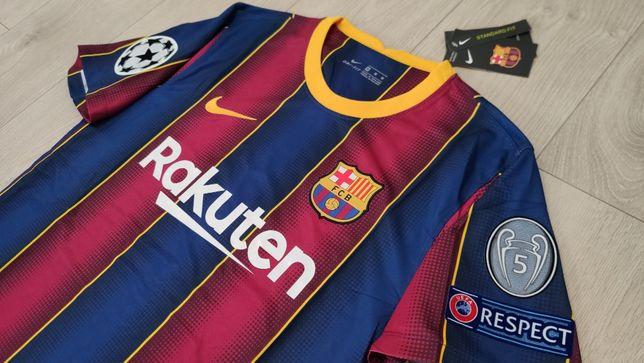Z POLSKI w 24H! Liga Mistrzów LM 20/21 Koszulka FC BARCELONA S M L XL