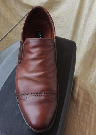 Продам мужские кожаные туфли 43р.28,5см.