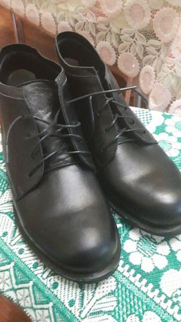 НОВАЯ кожаная ортопедическая обувь
