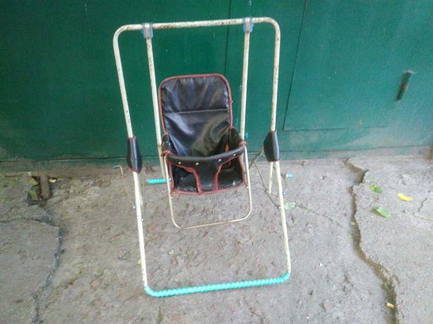2в1 Качель - стул СССР, складная, комнатная