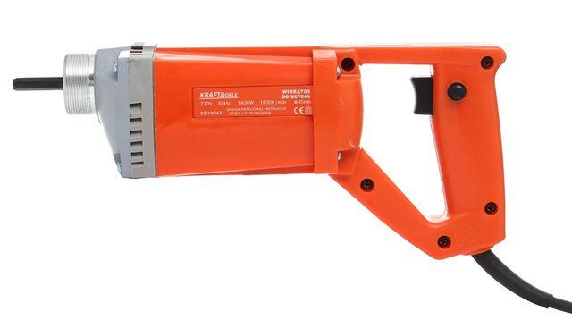 Wibrator do betonu+buława KD10842+Kd10843