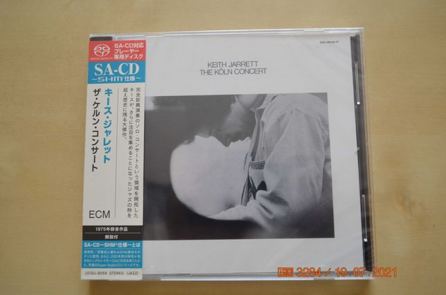 Keith Jarrett- The Koln Concert Japan  Shm SACD nowa w folii!