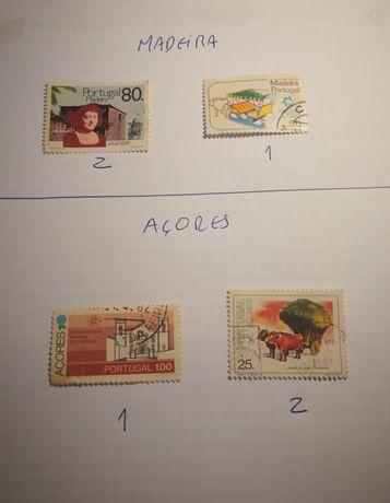 Selos da maneira e Açores