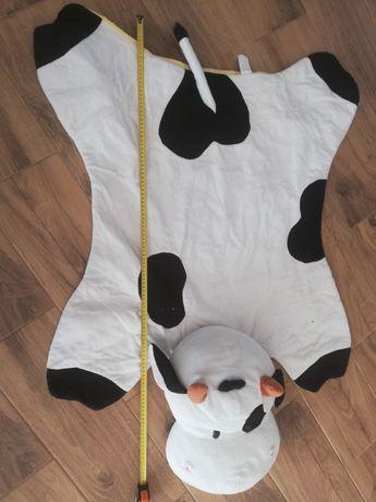 Mata do leżenia dla dzieci w kształcie krowy