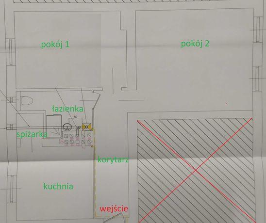 Mieszkanie w kamienicy 68m2 plus piwnica 1 piętro centrum Strzelec