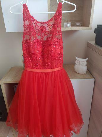 Sukienka weselna, okolicznościowa S/M