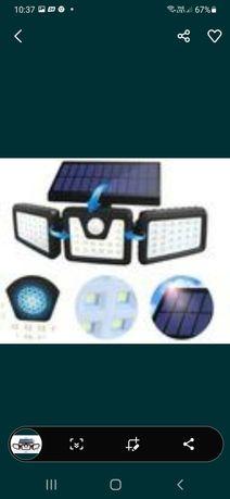 Lampa solarna kinkiet mocny 100w