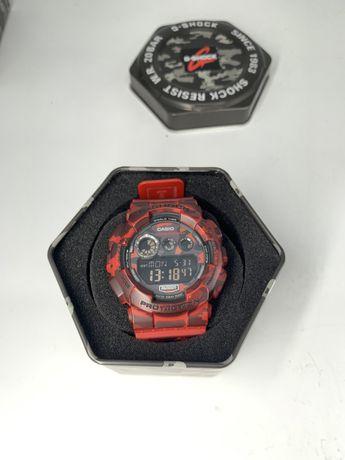 Casio G-Shock GD120CM-4 Red Camo