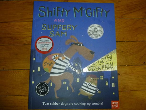 "English. Детская веселая книжка ""Shifty McGifty and Slippery Sam"""