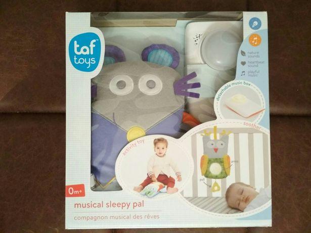 Taf Toys pozytywka z lampką nocną Mysz grająca zawieszka na łóżeczko