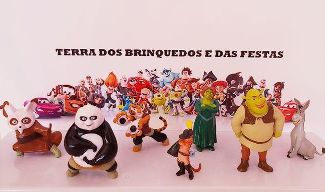 Conjunto Sherk + Panda Kong Fu (Portes Incluídos)