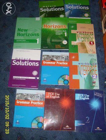 Oxford, Macmillan, Pearson Książki-podręczniki-gramatyka, angielski