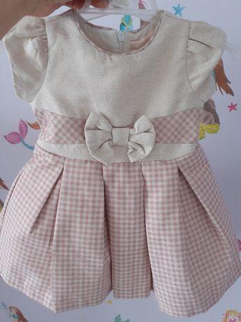 Sukienka na roczek na okazję r 80