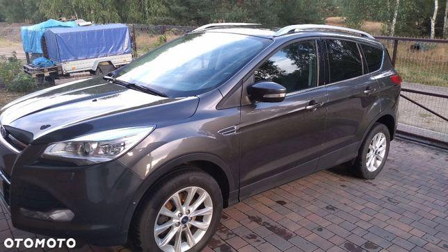 Ford Kuga Bezwypadkowy * Titanium * 4x4 * LED * Serwisowany * Przebieg 146 tyś.