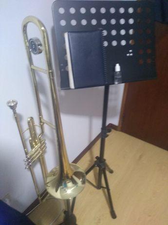 Trombone Thomann  troco por notebook ou tablet