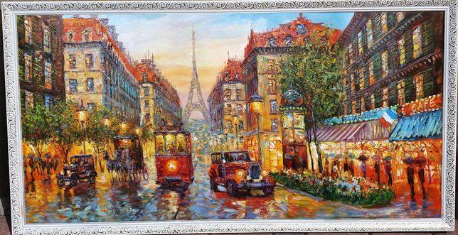 """Картина маслом """"Paris"""". Возможен торг!"""